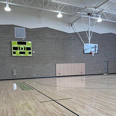 Sports and Fitness Center Gym