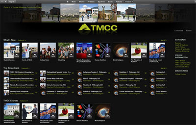 TMCC on iTunes U Screenshot