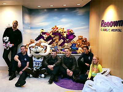 EMS Students Teddy Bear Drive Image