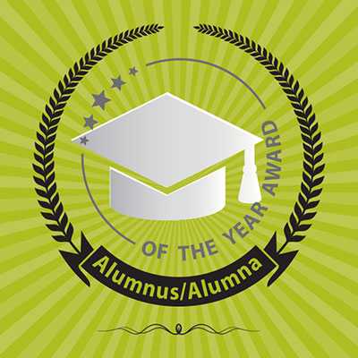 Alumni of the Year Logo