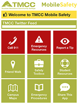 TMCC Mobile Safety App Image