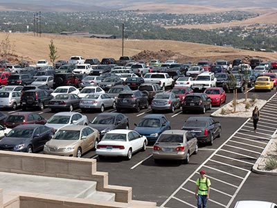New TMCC Parking Lot