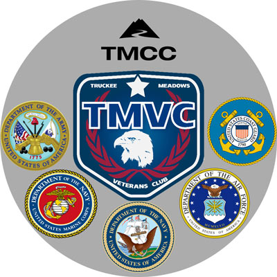 Logo for Truckee Meadows Veterans Club