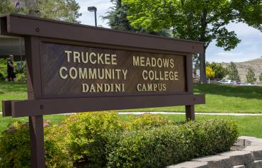 Dandini Campus sign