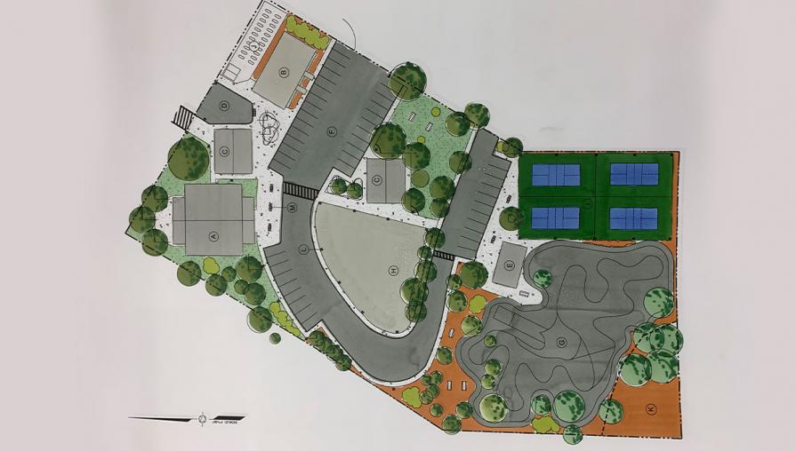 The master plan for the Almanor Parks and Recreation Department.