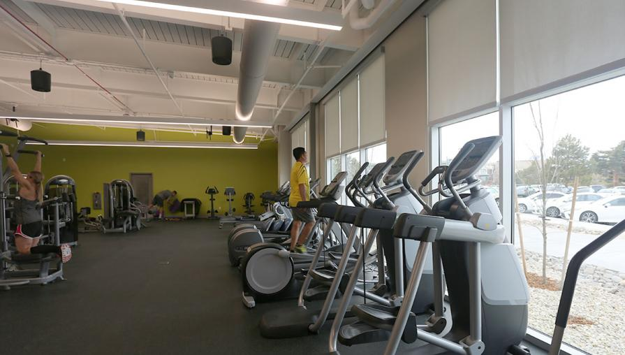 The Strength and Conditioning room at the TMCC Fitness Center.