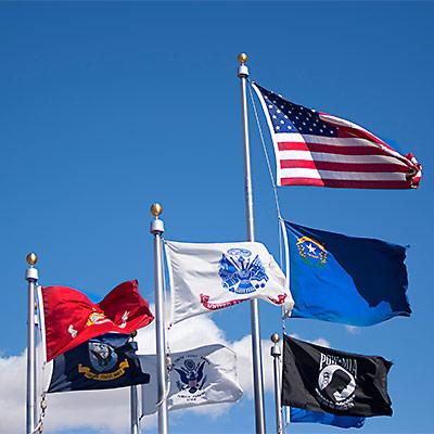 Image of Flags at TMCC