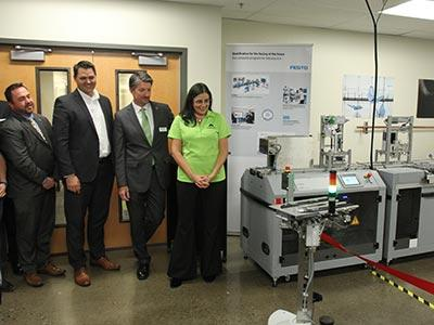 Photo of Industry 4.0 Ribbon Cutting Event