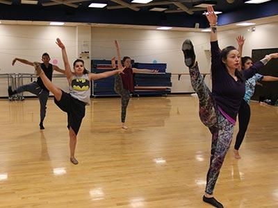 Photo of Jazz Dance class at TMCC